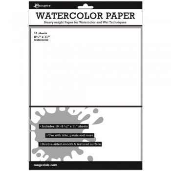 Watercolor Paper - 10 sheet pk
