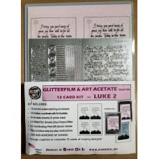 Bethlehem (Luke 2) GlitterFilm and Art Acetate Card Kit