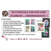 GlitterFilm & Vintage Hues 12 Card Kit Hummingbirds 1