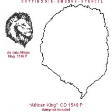 African King Lion Die AS CD 1549P