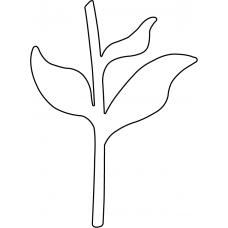 Flower Stem die