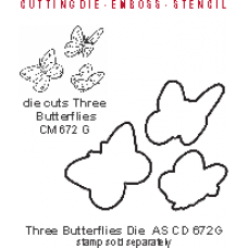 Three Butterflies Die AS CD 672G