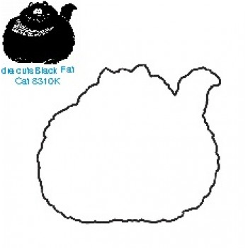 Black Fat Cat Die  ES CD 8310