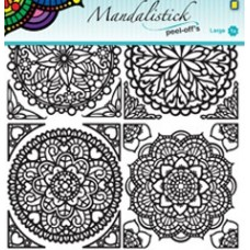 Mandalistick Medallion Outline Sticker