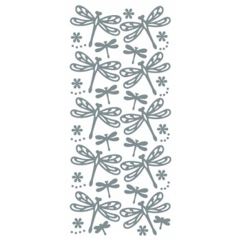 Dragonfly, small Outline Sticker 4605