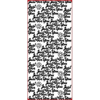 Just For You Outline Sticker DD2105