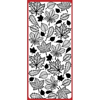 Autumn Leaves Outline Sticker