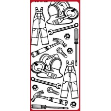 Tools 2 Outline Sticker DD5722