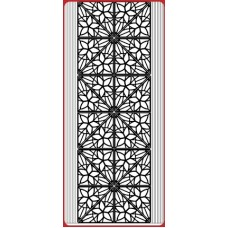 Corners Christmas Star Outline Sticker DD7094