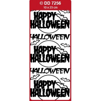 Happy Halloween Outline Sticker