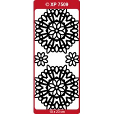 Mandala 03 Medallion Outline Sticker