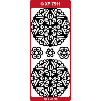 Mandala 05 Medallion Outline Sticker