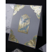 Sticker, Double Embossed Church Window Doves