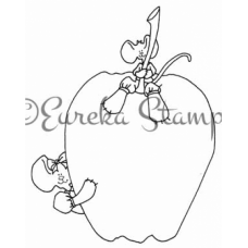 Apple Mice Stamp