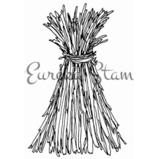 Tied Cornstalks Stamp