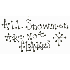 All Snowmen Stamp