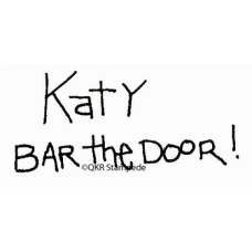 Bar the Door Stamp