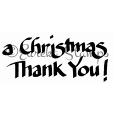 A Christmas Thank You Stamp