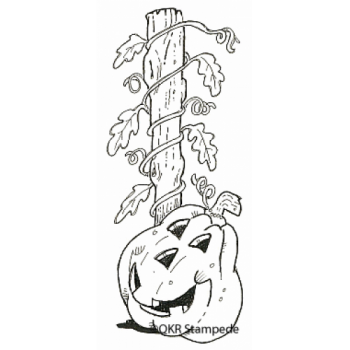 Pumpkin Vine Stamp