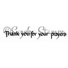 Thank you for your prayers Stamp