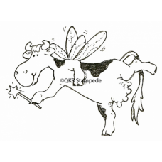 Cow Ferrie Stamp