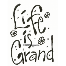 Life is Grand Stamp