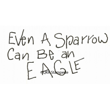 Even a Sparrow Stamp
