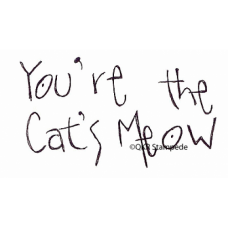 Cat's Meow Stamp