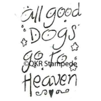All Dogs Stamp