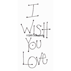Wish You Love Stamp