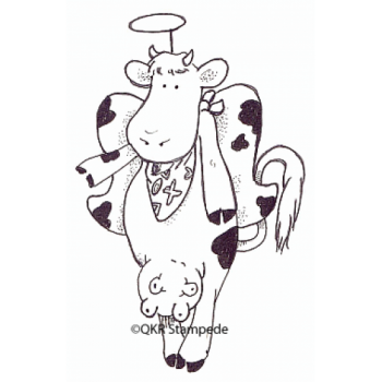 Angel Cow Stamp