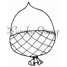 Acorn Balloon Stamp