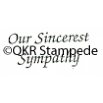 Our Sympathy Stamp