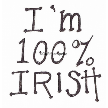 100% Irish Stamp