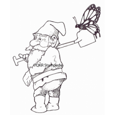 Knome and Butterfly Stamp