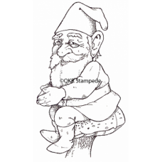 Sitting Knome Stamp