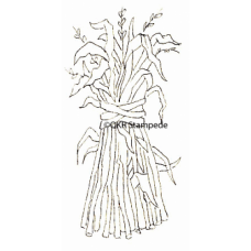 Corn Stalks Stamp