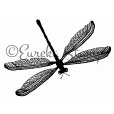 Small Dragonfly Stamp