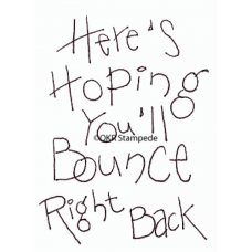 Bounce Back Stamp