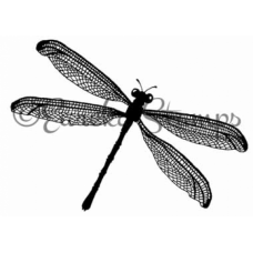 Large Dragonfly Stamp