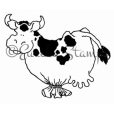Cow Balloon Stamp