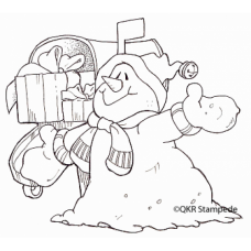 Winter Gift Stamp