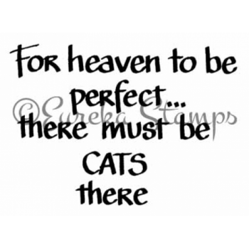 Cats in Heaven Stamp