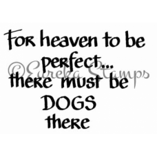 Dogs in Heaven Stamp