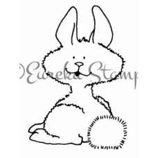 Smiling Bunny Stamp