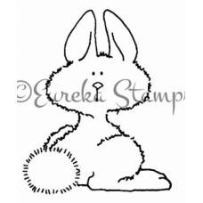 Questioning Bunny Stamp