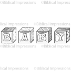 (417)  BABY Unmounted Stamp