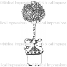 Topiary Unmounted Stamp