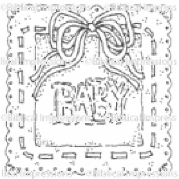 BABY frame Unmounted Stamp