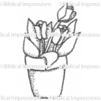 Tulips Unmounted Stamp